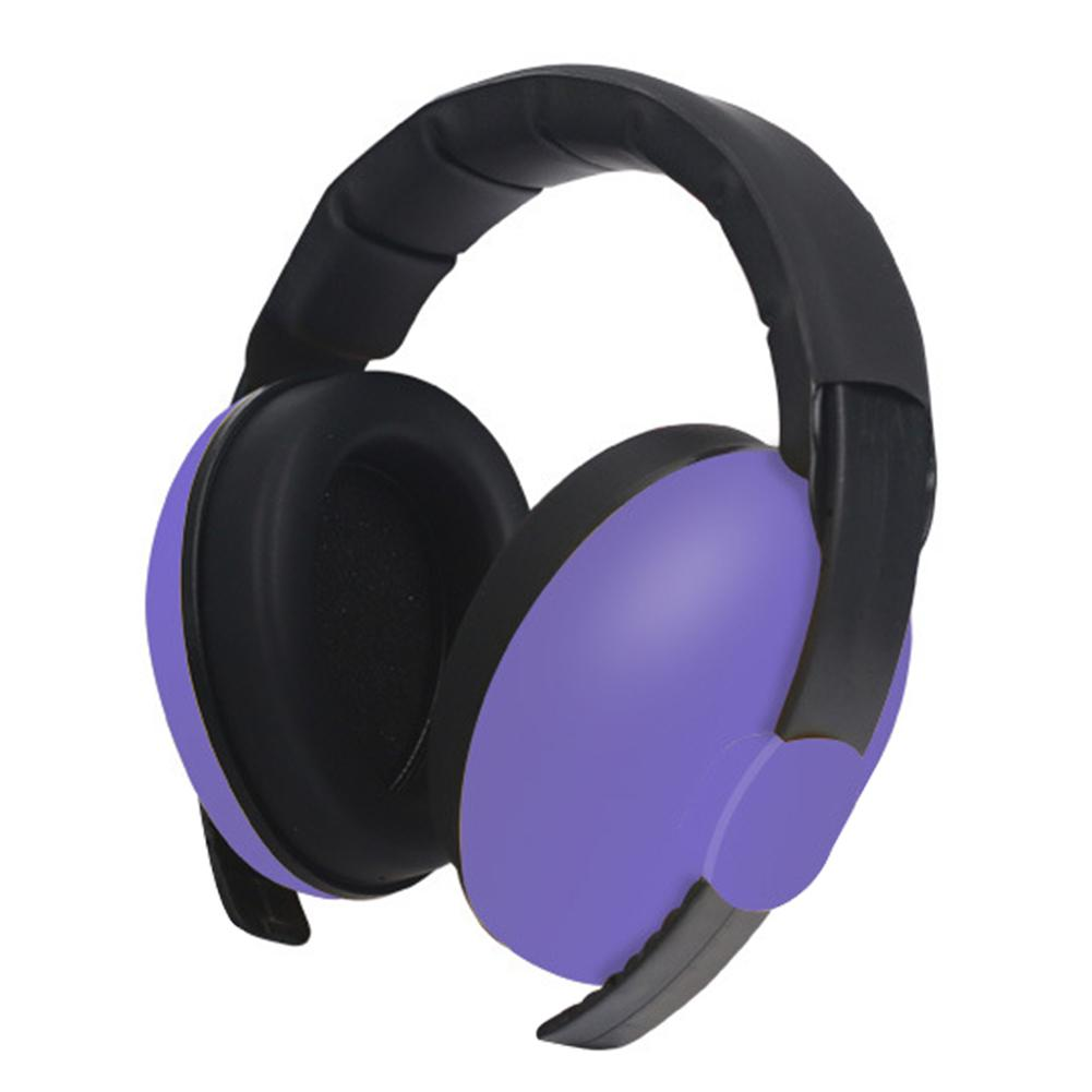 Poids léger Enfants Oreille Protection auditive bébé Sécurité réglable Earmuffs Concert Sound Noise Cancelling lent