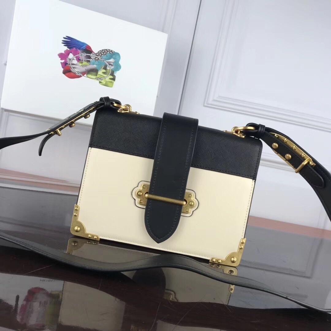 A bolsa mensageiro Superstar grife feminina senhoras de luxo clássico e elegante destacável alça de couro de ombro ajustável em couro cinta