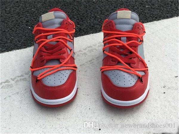 FUTURA all'ingrosso x SB Dunk Low Skateboard Shoes Università Lupo Rosso Grigio Verde Blu Rosso Mens Donne Sport Sneakers Casual 36-45eur