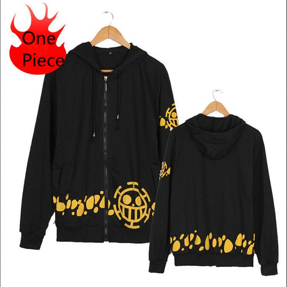 حار بيع اليابانية تأثيري الملابس قطعة واحدة قانون الطرف الأغر الهيب هوب هوديس ملابس سوداء البلوز معطف مع غطاء للنساء رجال