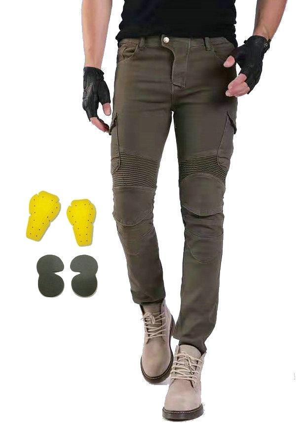 Volero diaria ciclismo moto pantalones sueltos recta motorpool moto ventas pantalones casuales pantalones de montar moto caballero calientes protectores