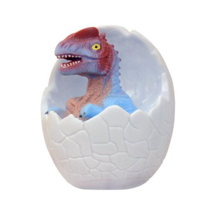 Dinosaur Egg 3D Night Light Rechargeable Control Lamp 16 Colors Change Remote LED Light Gift Creative smart home desk lamp
