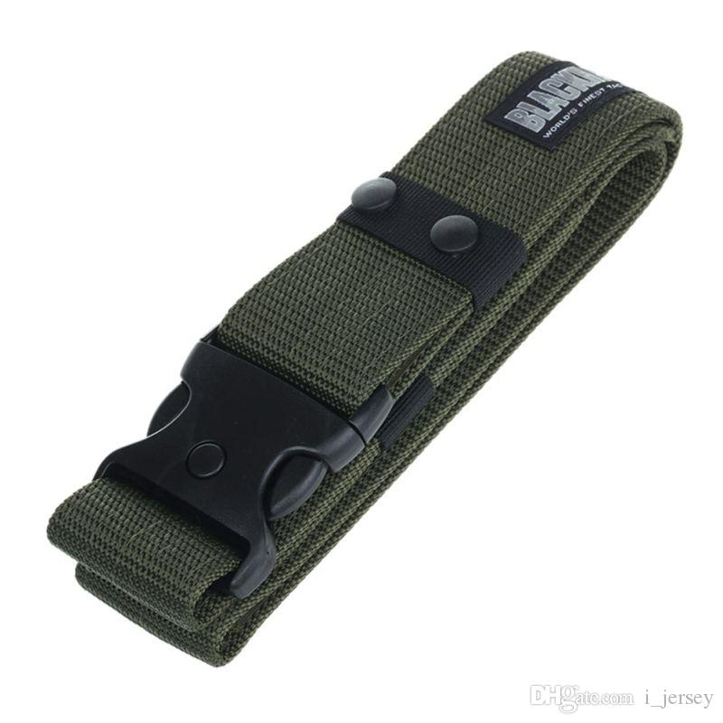 Army Military Tactical Belts Adjustable Survival Heavy Duty Combat Waistband Multi Functiong Band #134786