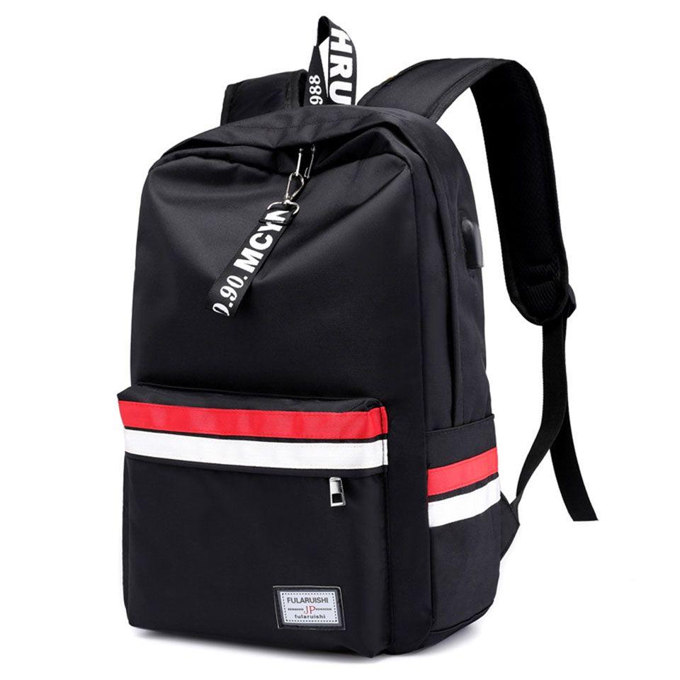 Мода Молодежный Большой Емкости Студент Школьный Рюкзак Водонепроницаемый Дышащий Легкий Вес Открытый Дорожная Сумка Модный Многоцветный Рюкзак