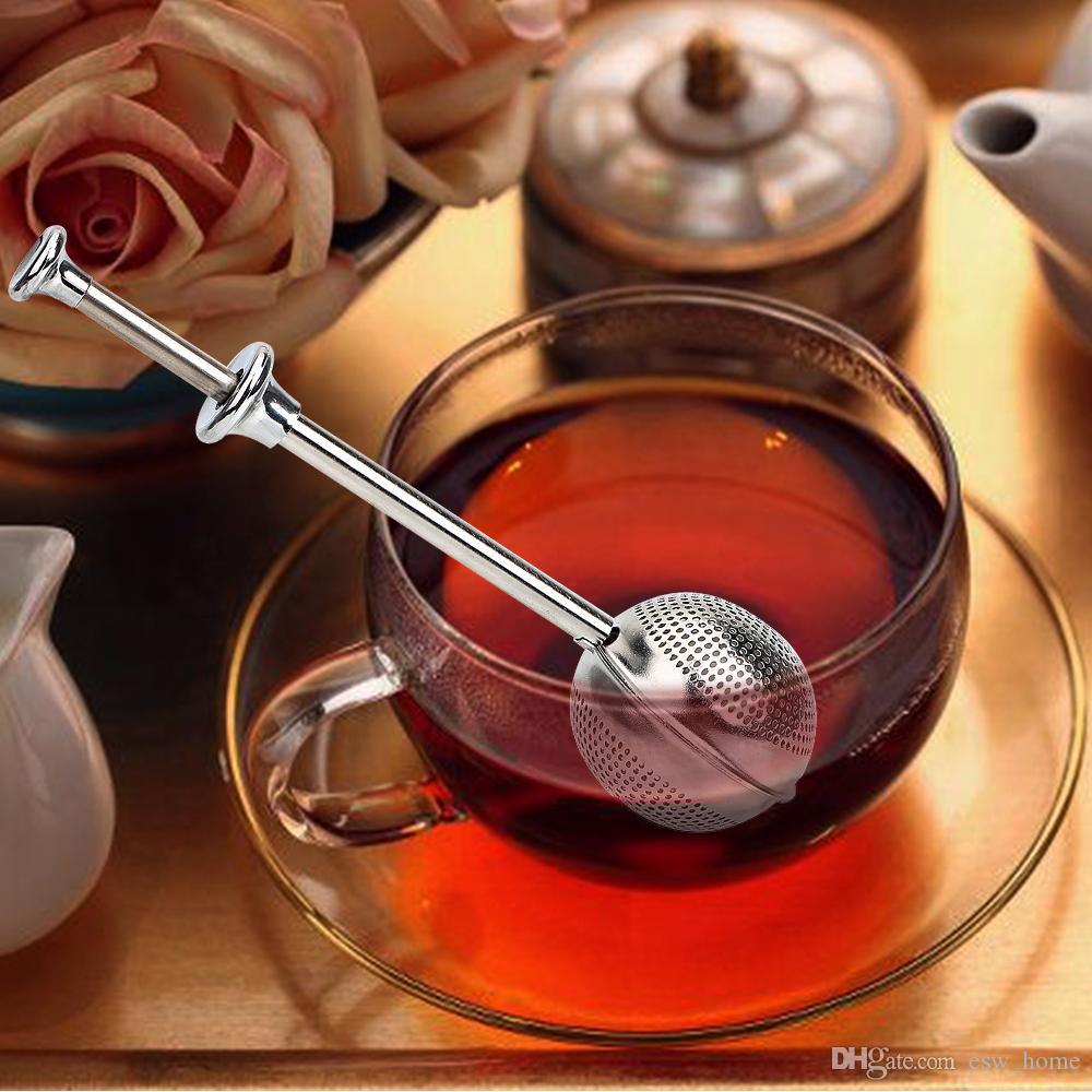 Örgü Gevşek Çay Topu Demlik Paslanmaz Çelik Spice Bitkisel Çay Yaprağı Süzgeç Ev Uygun Gerekli Filtre