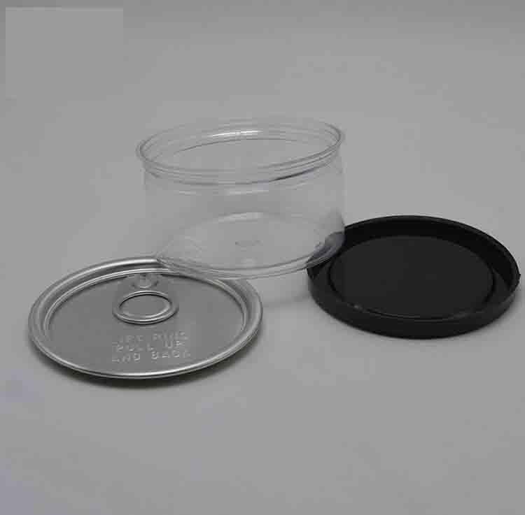 Neueste Kräuter Tabak Metall Blechdose Box Pop-Top Cali mit Easy Open End und kindersichere Deckel individuelle Etikett 66 (D) x33 (h) mm