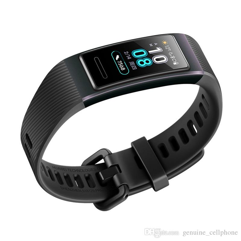 Original Huawei Band 3 Pro Smart Bracelet GPS NFC Heart Rate Monitor Smart Watch Sports Tracker Fitness Wristwatch For Android iPhone iOS