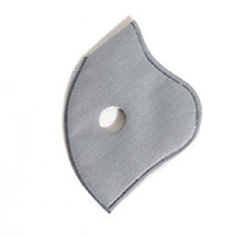 Sports Mask Chip Filtro PM2.5 REMPLACEMENT pano de filtro para Face Insert 5 camadas de protecção anti-embaçamento à prova de poeira respirável EEA1522-