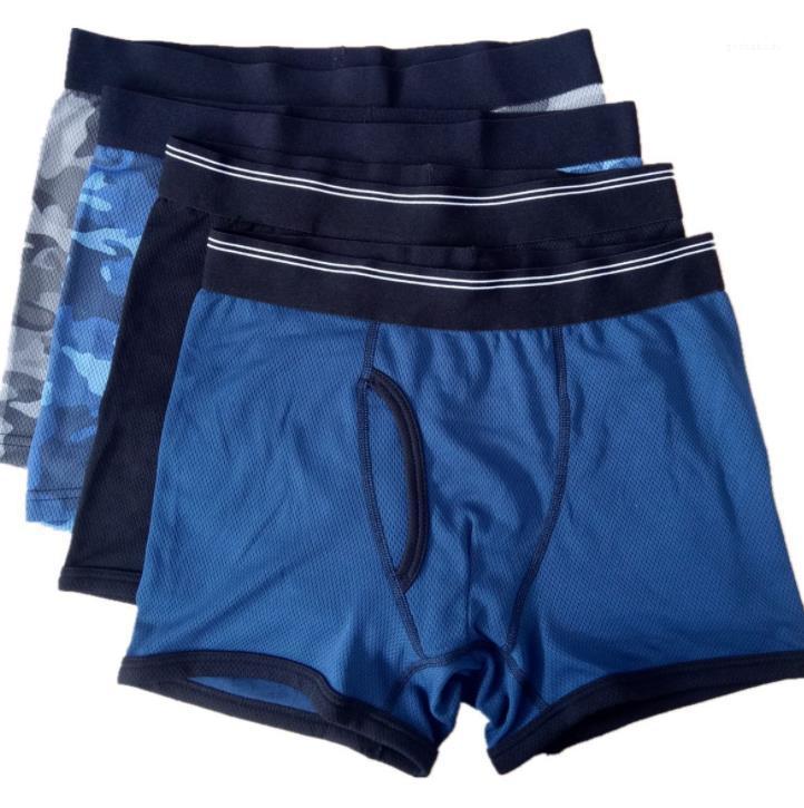 Cotton Boxers di alta qualità del progettista biancheria intima Mutande Mens abbigliamento comodo