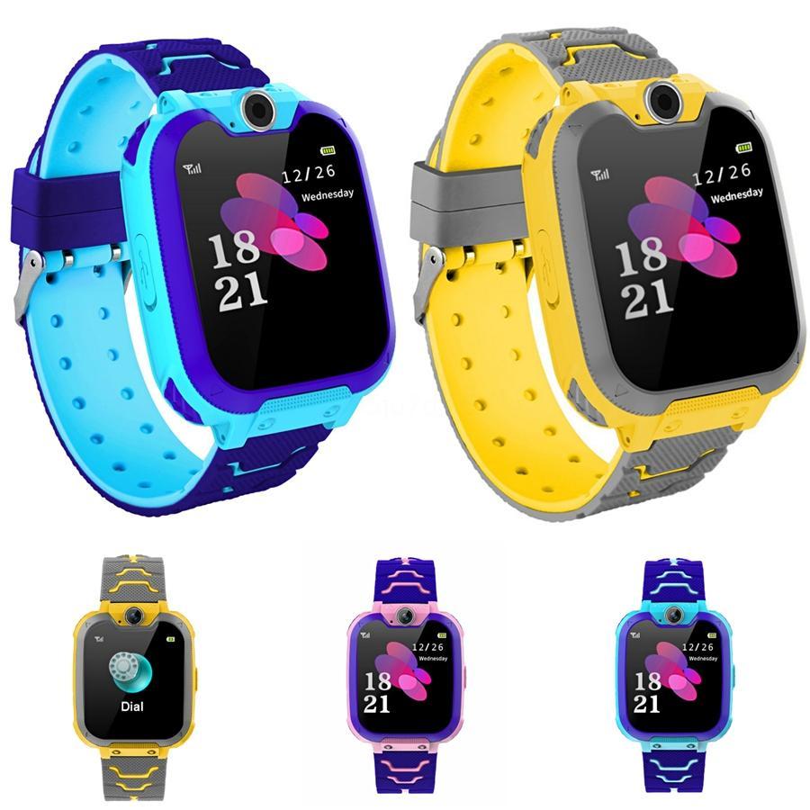 1Mens guarda gli uomini vigilanza di modo della ragazza del ragazzo del capretto del bambino Sport ha condotto la luce impermeabile analogico orologio digitale da polso uomo Watch # 737