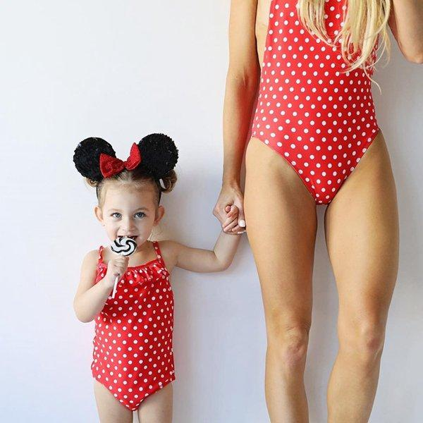 Toddler Baby Girls Watermelon One-Piece Bikini Halter Romper Dress Swimsuit Beach Headband 2Pcs Bathing Suit Swimwear