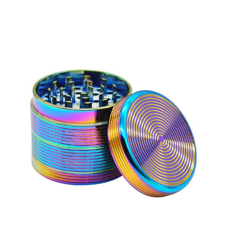 Broyeur de fumées meuleuse à quatre couches de haute qualité et délicat à grande échelle en couleur