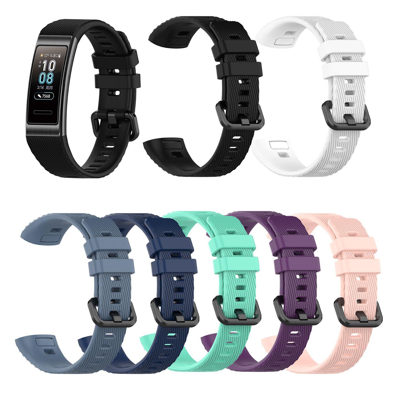 2019 Smart Watch Band für Huawei-Band-Handgelenk-Band 3 Pro-Silikon-Armband-Bügel-Replacement-Armband