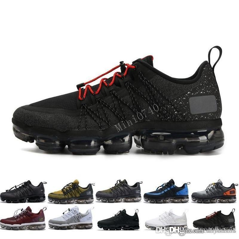 2019 mens Hot Run Utility Nero Antracite mens shoes designer triple formatori Borgogna Crush sportive scarpe da ginnastica Media Olive