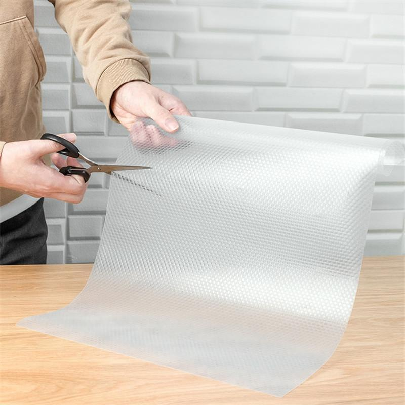 2020 Clear Waterproof Oilproof Shelf Cover Mat Drawer ...