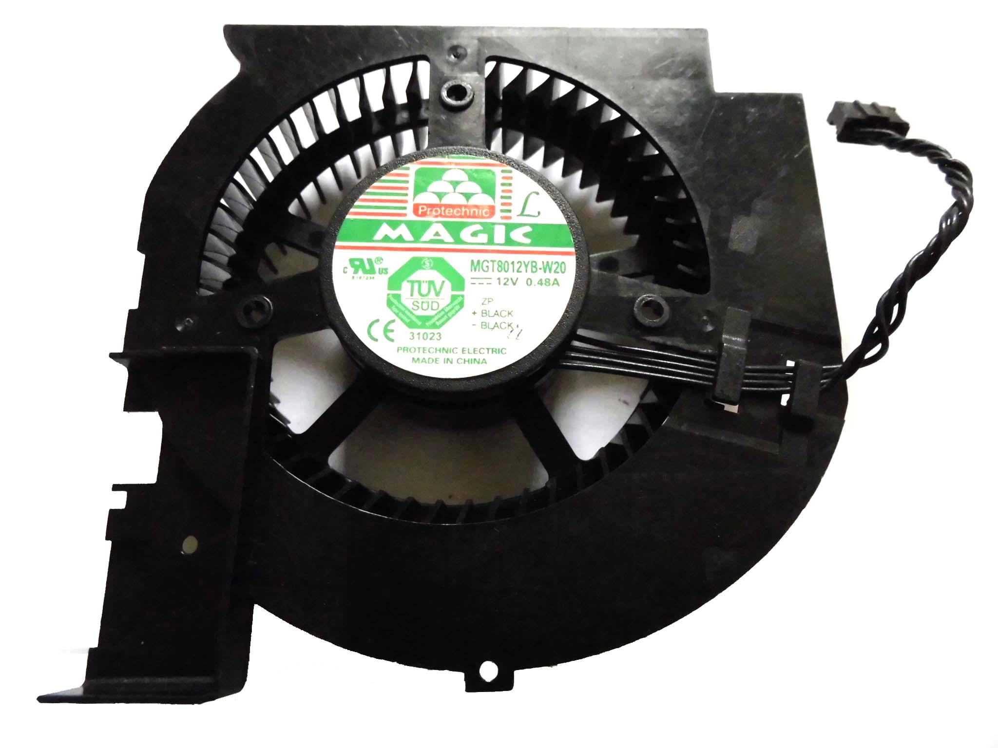 프레임 MAGIC 8025 MGT8012YB-W20 냉각 팬 12V 0.48A 4 선식