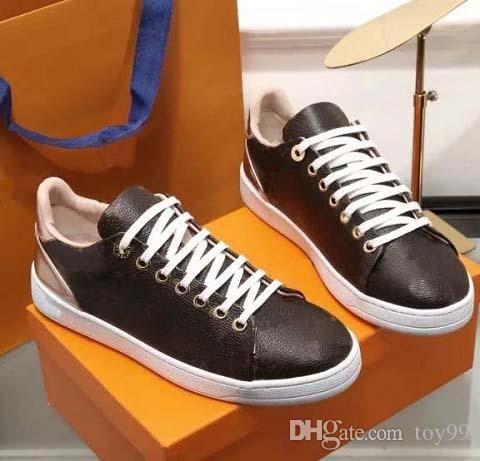 Avec la boîte espadrille chaussures Casual Formateurs chaussures de sport mode Chaussures Baskets meilleure qualité pour femme libre DHL Par toy99 L1809