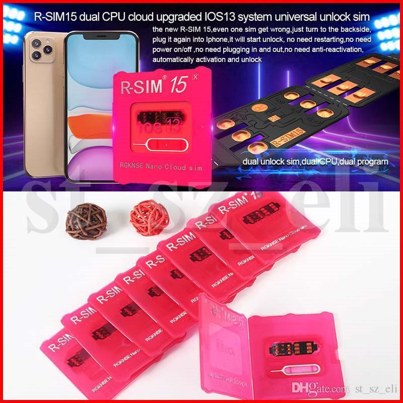 R-sim 15 RSIM15 R SIM 15 unlock for iphone xs max xr IOS13 universal unlocking sim card