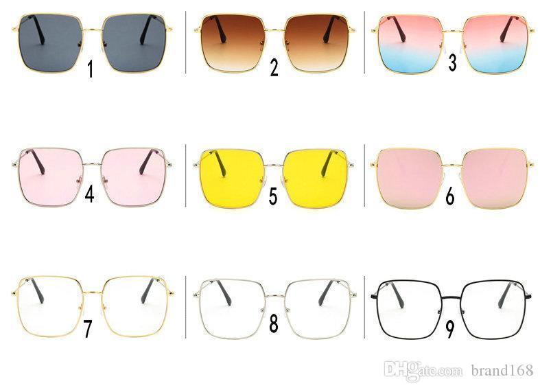 9 in stile Best Outdoor (occhiali realizzati colorati. Occhiali da sole classici per occhiali da sole in metallo Cina) Sport Square Lady Cycling Sun New MrRkr