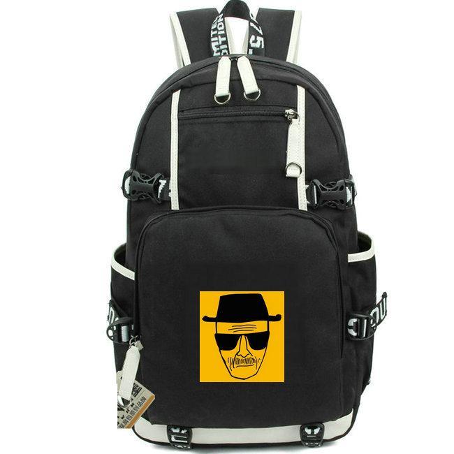 والتر ظهره كسر سيئة حزمة اليوم الأبيض حقيبة مدرسية teleplay طباعة الحاسوب packsack الجودة حقيبة الرياضة المدرسية Daypack حقيبة في الهواء الطلق