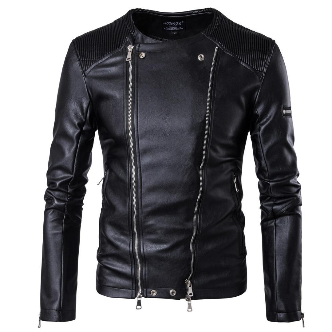 2017 mens de imitación de piel abrigos de ropa de moda piloto de motos importadas pp cráneo de cuero de la chaqueta de los hombres delgados B001 ajuste