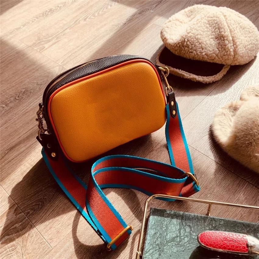 alta qualitu borsa in pelle fotocamera CFY2002101 moda borsa a tracolla dal design di lusso