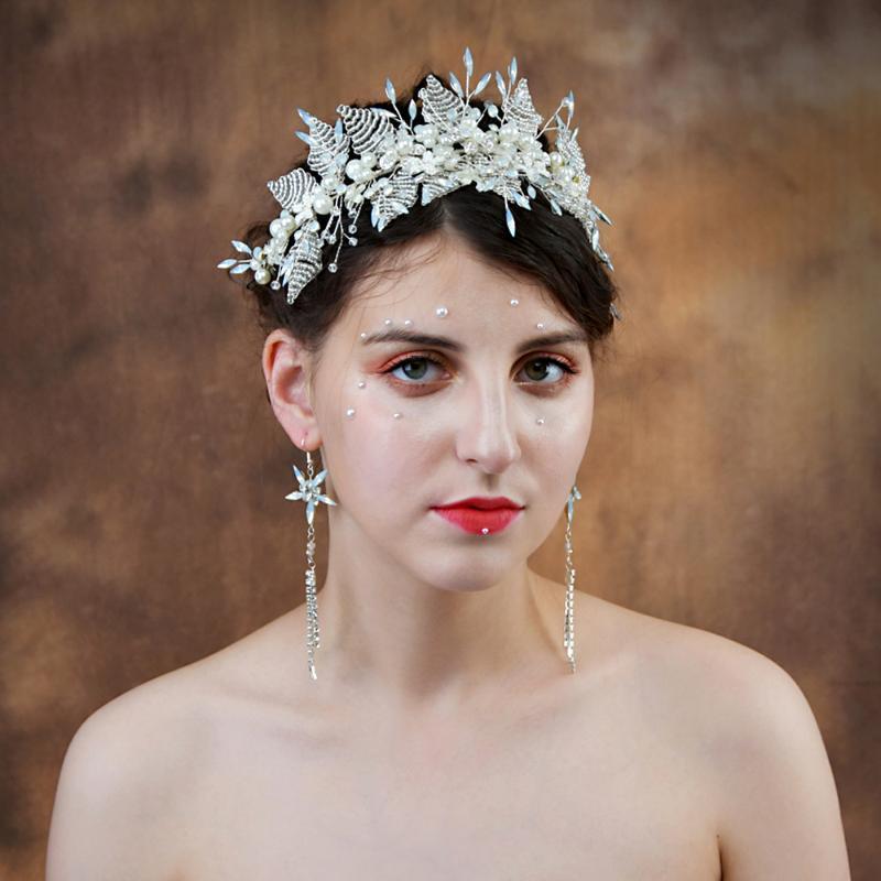 Trixy H249 strass Bandeaux mariage Accessoires cheveux Bijoux Perles mariée Diadèmes Headpiece de mariée Accessoires cheveux