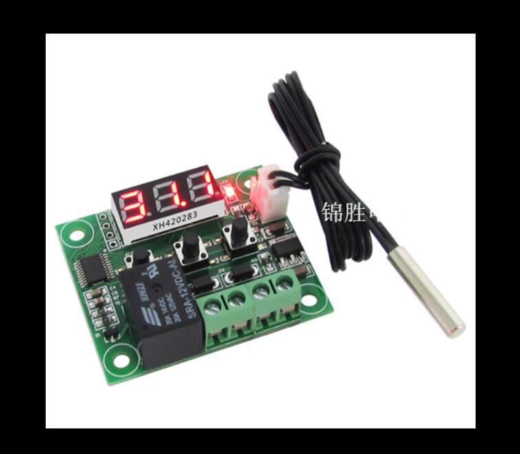 Yüksek Hassas Sıcaklık Kontrolör Sıcaklık Anahtarı termostatı Orijinal Orijinal Dijital harareti Sensör XH-W1209 Dijital gösterge