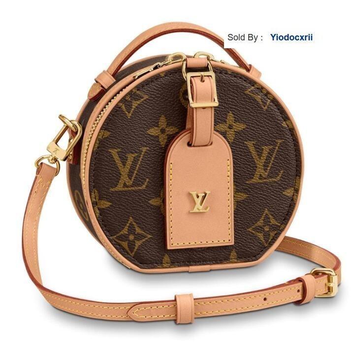 yiodocxrii 84M2 Handbag Mini Boite Chapeau Mini Round Cake Shoulder Bag M68276 Totes Handbags Shoulder Bags Backpacks Wallets Purse