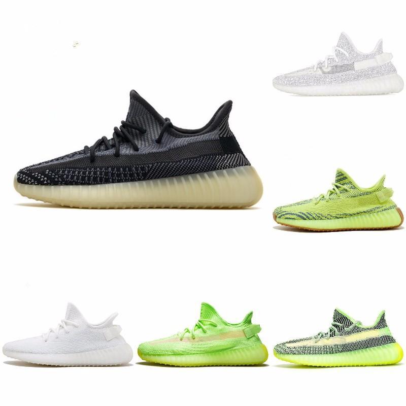 Refective Yecheil Desigmor Barro Vermelho estático Running Shoes Hyperspace verdadeira forma Black Top Amarelo Qualidade Sneakers Homens Mulheres J # 006277