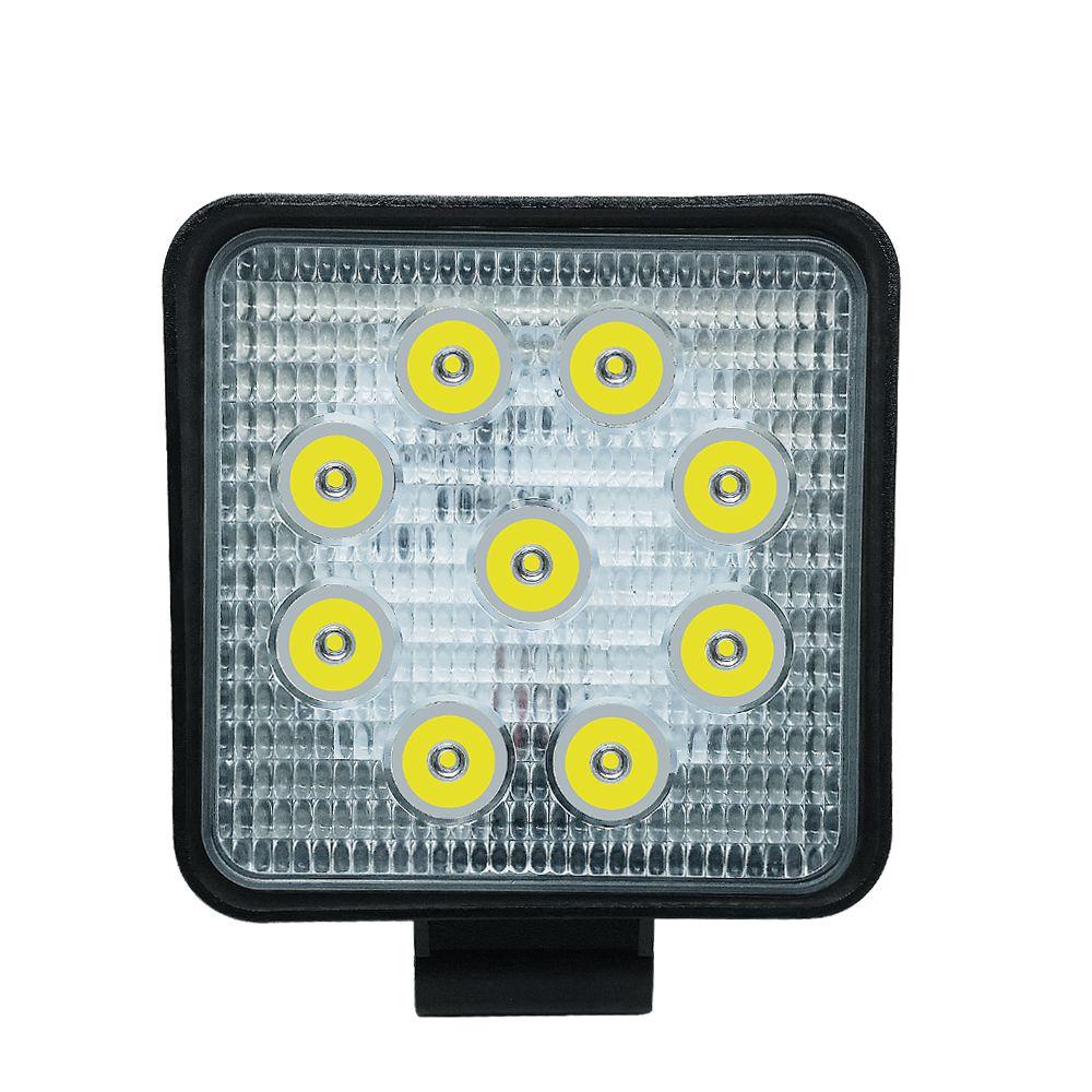 27W 2700LM IP68 Impermeabile Quadrato a LED Striscia di lavoro Light Bar Refit Off-road Light Roof Strip Lamp Veicolo ATV SUV