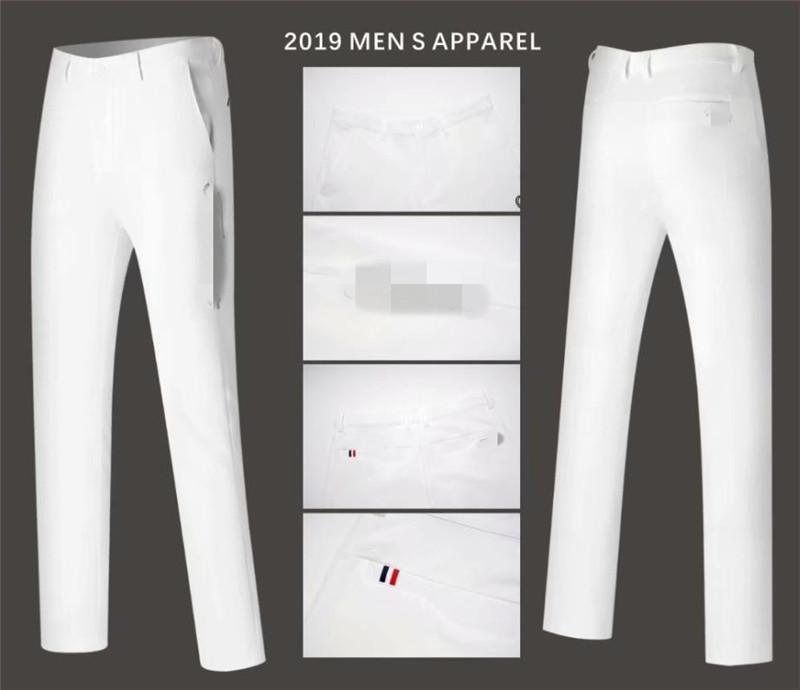 Hommes Pantalons Pantalons d'automne tout-match Pantalon coréen Slim long printemps Vêtements 4 couleurs Hommes