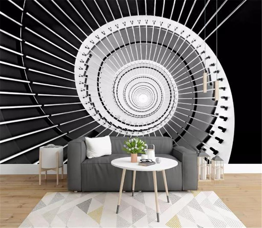 Custom Mural Wallpaper 3d Modern 3d European Retro Extension Space Tunnel Industrial Styles Living Room Tv Background Bound Wall Painting W Desktop Wallpaper High Resolution Desktop Wallpaper Wide From Yunlin189 9 89 Dhgate Com