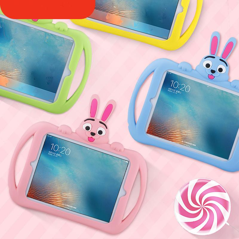 Cartoon Silicone Case for Tablet PC Protective Cases Silicone Mini12345 Protective Case 9.7 10.2 10.5 inch Silicone Case