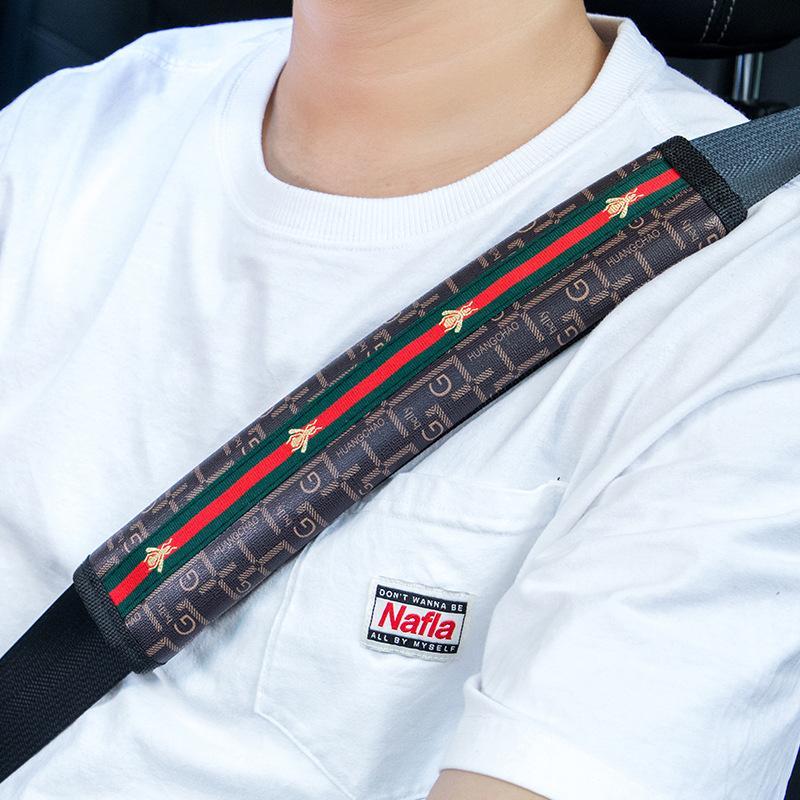 نمط جديد الساخن السيارة حزام الأمان وحة الكتف قيادة مريحة حزام الأمان