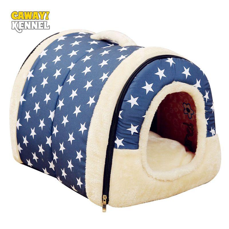 Cawayi بيت الكلب بيت منتجات كلب سرير للكلاب القطط الحيوانات الصغيرة كاما بيرو هوندينماند النزول تشين ليجورسكو dla psa 201225