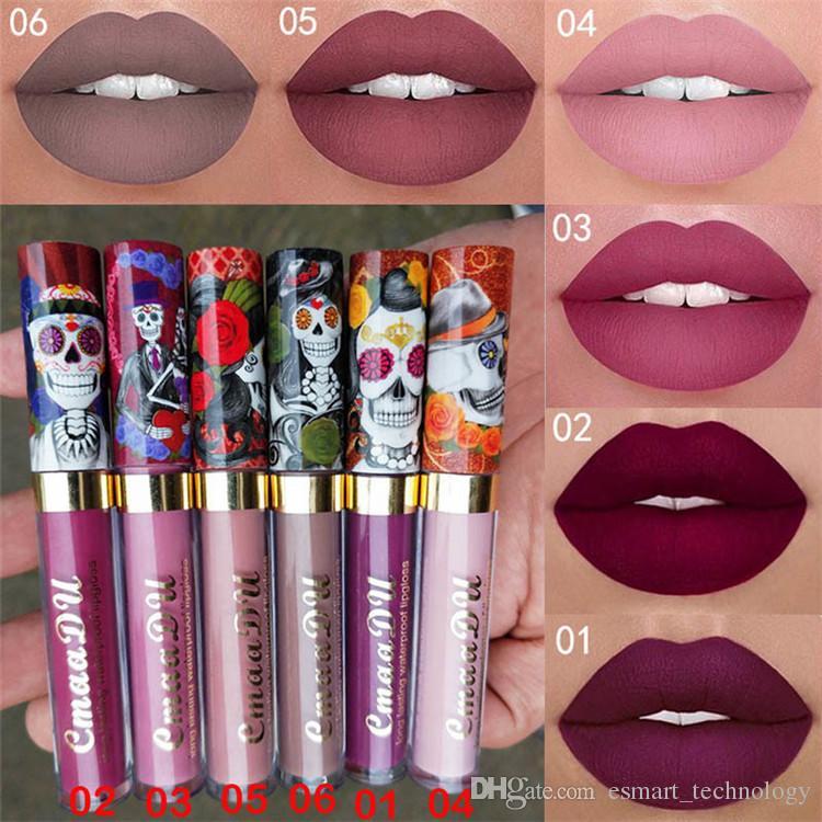 Cmaadu 6 Couleurs Liquide Mat Lèvre Lèvres Lipstick Rouge A Levre Waterproof Lipgloss Beauty Maquillage Kit