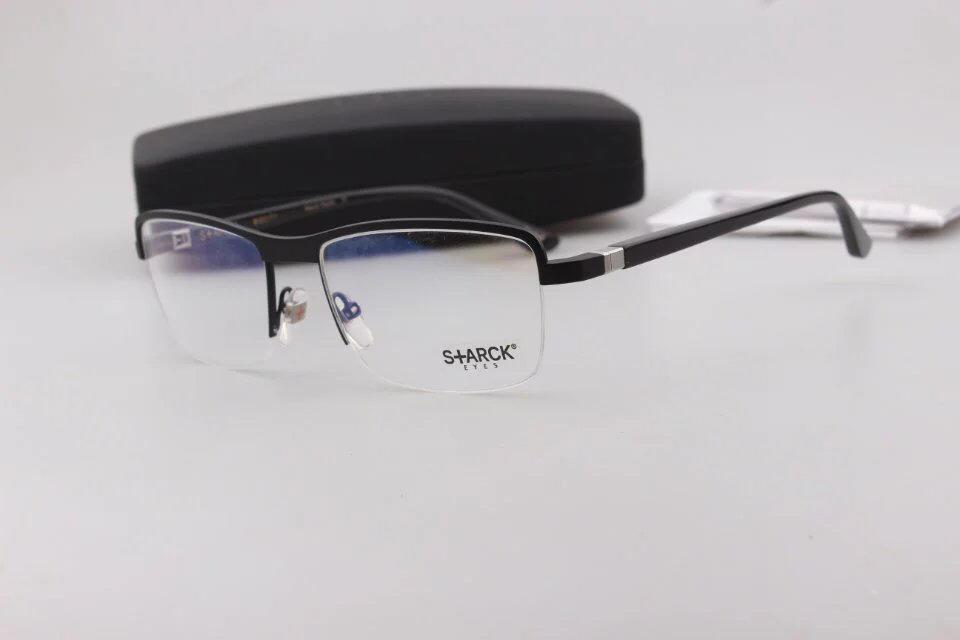 All'ingrosso-uomini degli occhiali Mikli 1111 titanio puro Occhiali-rimlematching semi lenti gradi occhiali da vista con la scatola originale