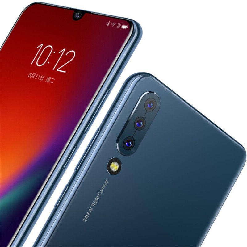 "Original Lenovo Z6 4G LTE Cell Phone 6GB RAM 64GB 128GB ROM Snapdragon 730 Octa Core 24.0MP 4000mAh Android 6.39"" OLED Full Screen Fingerprint ID Smart Mobile Phone"