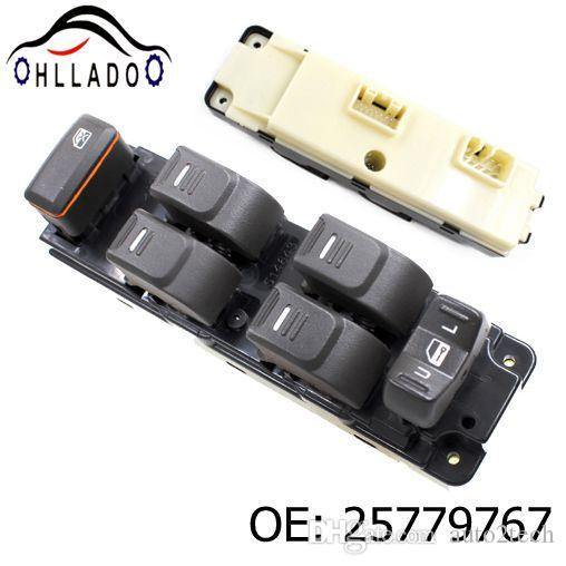 HLLADO Interruttore generale per alzacristalli elettrici 25779767 per G M C 2004-2012 Chevrolet Colorado 2006-2010 Hummer H3 2009-2010 H3T Car