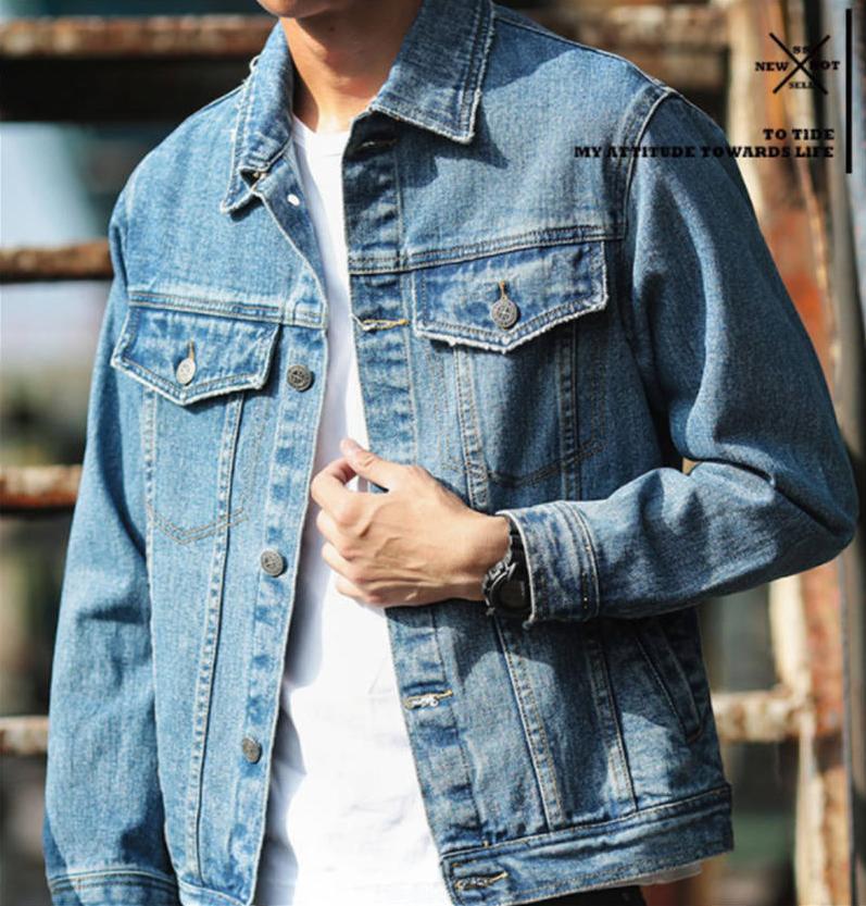 2020 chaqueta del diseñador del Mens Escudo antumn Marca Outwear la vendimia chaquetas moda vaquera Tops motocicleta letras impresas chaquetas