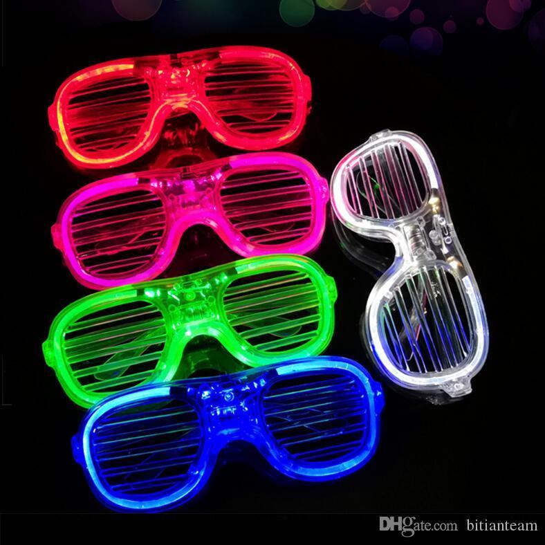 Brinquedos luminosos / Ajustável piscando óculos de desenhos animados para crianças / luz colorida / brinquedos do bebê para as crianças / brinquedo / melhor presente