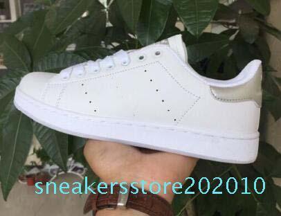 2020 En kaliteli kadın erkek yeni stan ayakkabılar moda smith ayakkabı ayakkabı S10 çalışan gündelik deri spor sneakers