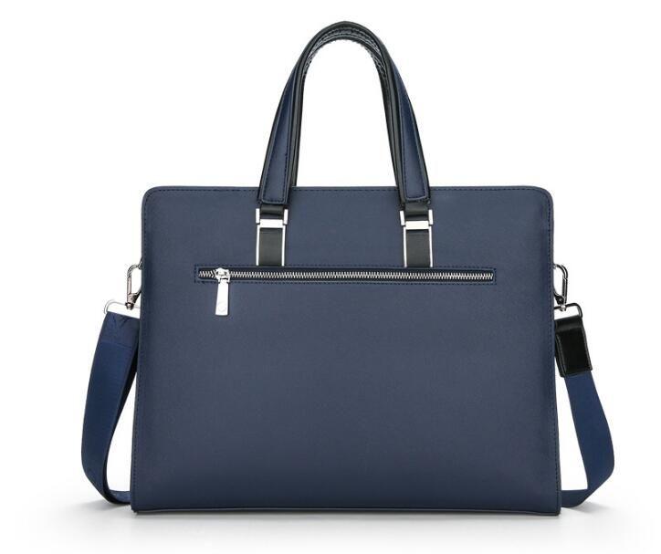 Mens bag crocodile pattern shoulder diagonal cross bag business portable briefcase
