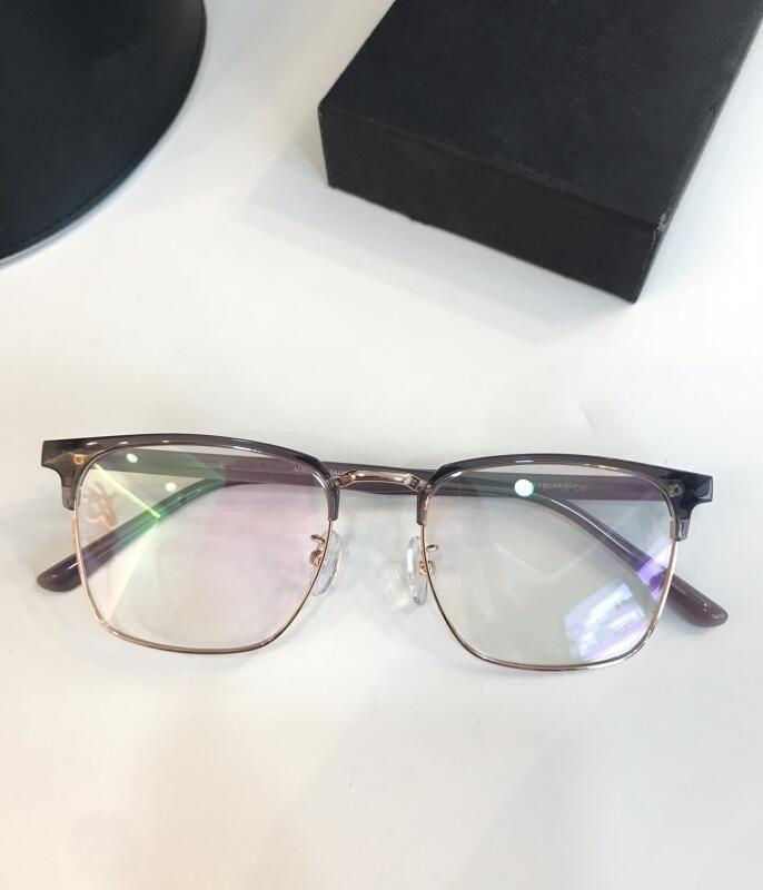EyeGlasses Frame Occhiali Clear Lense Mens e Oculos Cornici Myopia 70072 Grau Womens de Men Retro e Donne Myopia Occhiali da vista Occhiali B wtkw
