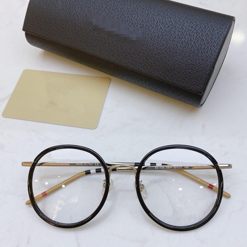 2020 NEW BE1326 جولة النساء نظارات الإطار المعدني + المريلة ريم 52-21-145mm عن وصفة النظارات fullset freeshpping التعبئة