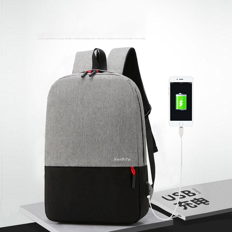 2020 Backpack Usb Charging Backpacks With Headphone Jack Business Laptop Men Backpack Travel School College Bag New From Wangjj2008 18 82 Dhgate Com