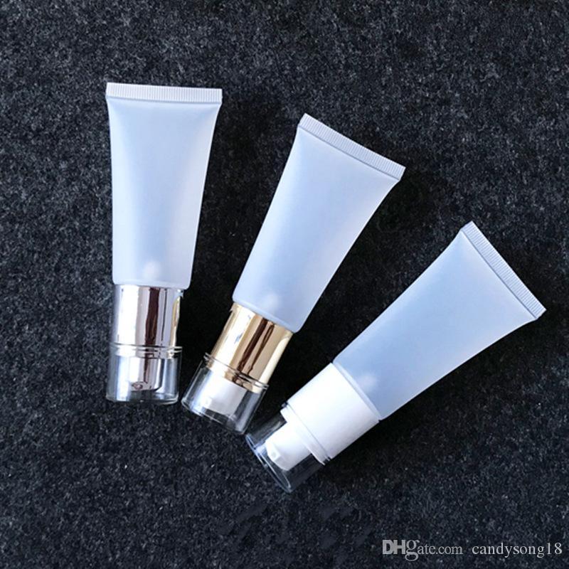 40ml / g Handcreme Squeeze Soft Tube, eleganter Kunststoffschlauch Soft Tube für kosmetische Produkte, Soft Foundation Flasche