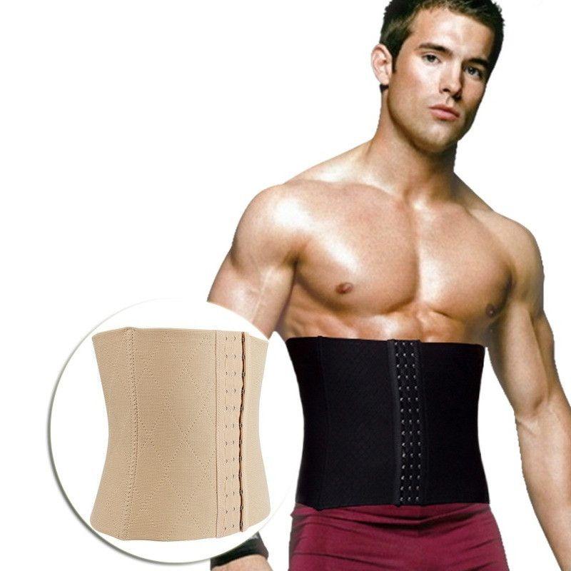 Mens Waist Trainer Belt Weight Loss Trimmer Underwear Body Shaper Cinchers