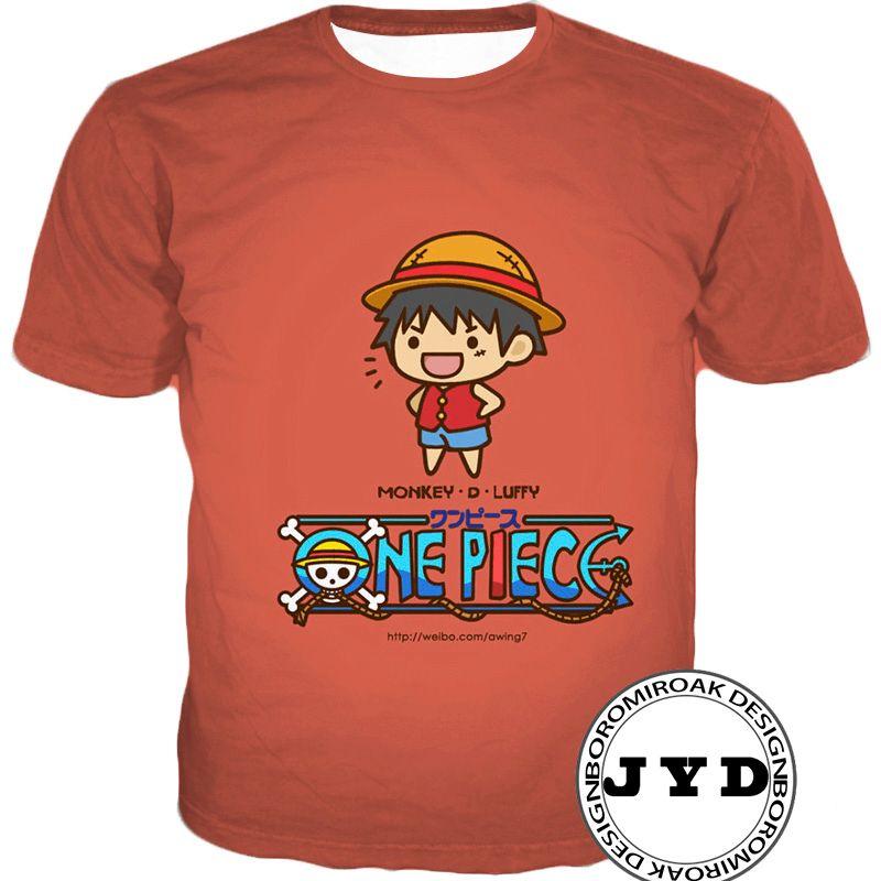 Maglietta unisex Rufy Camicie 3D Carino Estate Tee Cranio Testa Brook Tees Anime tshirt Regalo di famiglia Rosso Rosa Camicie gialle Trasporto di goccia